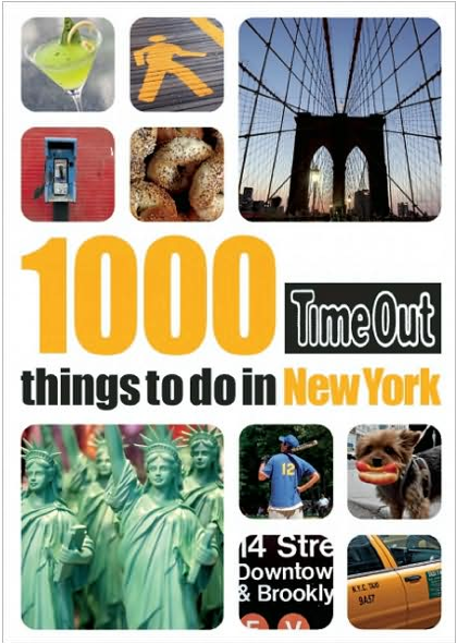 1000 Things to do in New York Timeout