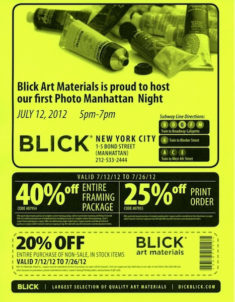 blick photo supplies